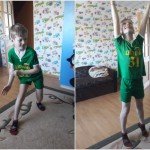 Ignas sportuoja
